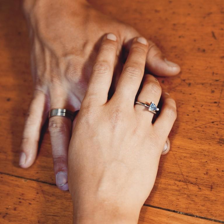 Goldline verlovingsringen