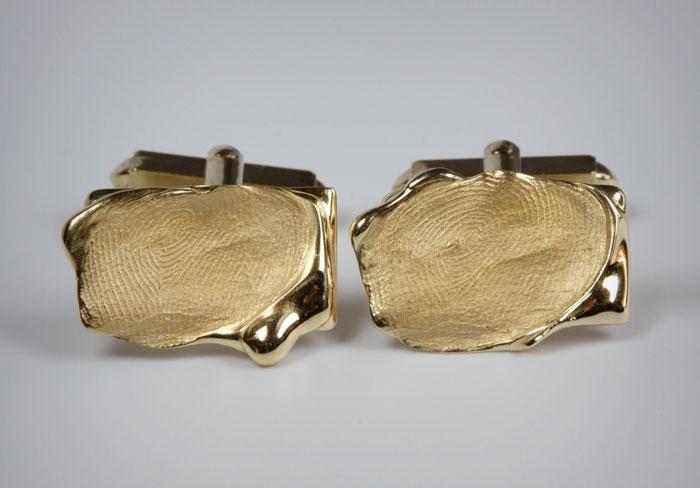 goldline herinneringssieraad manchetknopen